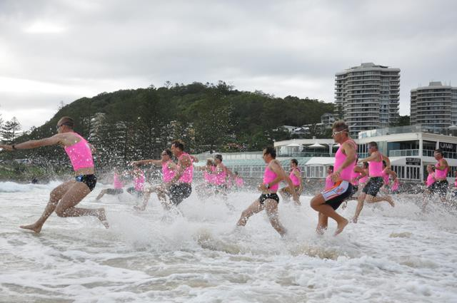The Kingfisher Realty Burleigh Swim Run