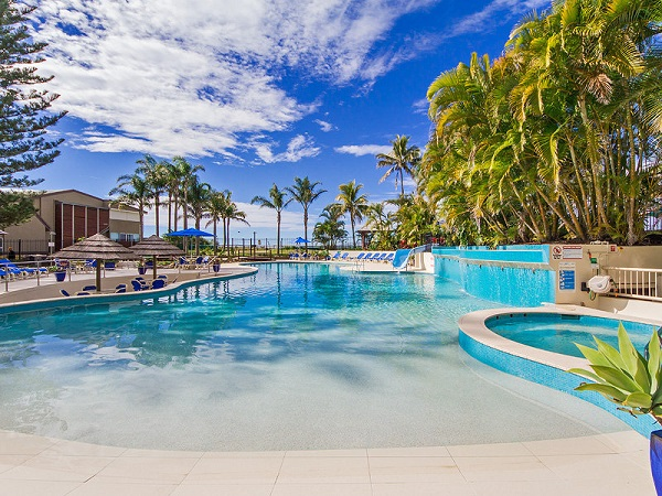 Families with Kids Will Love Our Stunning Lagoon Swimming Pool