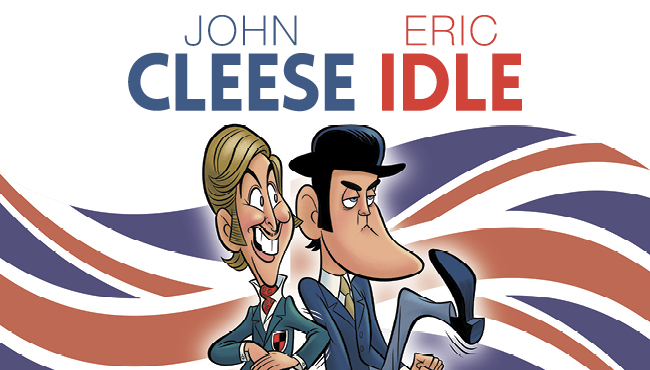 John Cleese and Eric Idle Together Again at Last…For the Very First Time