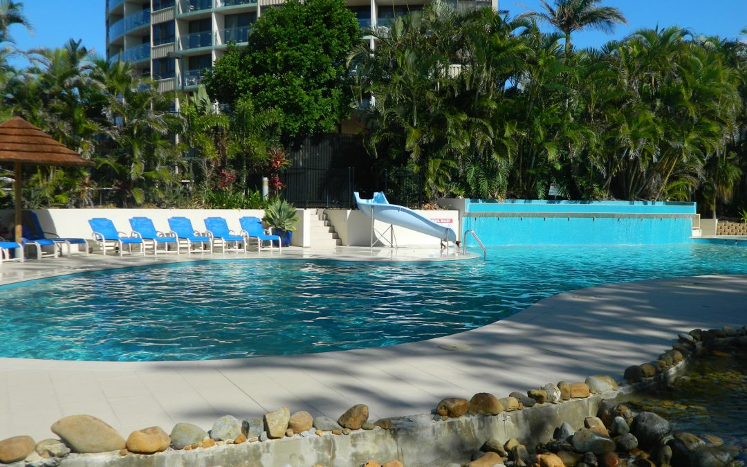 Beat the Heat at Our 33 Metre Lagoon Swimming Pool