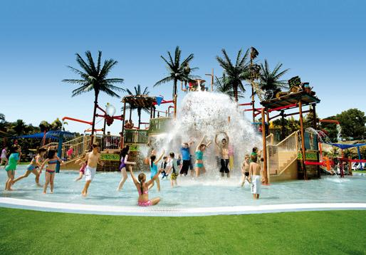 Treat the Kids to the Gold Coast's Famous Theme Parks