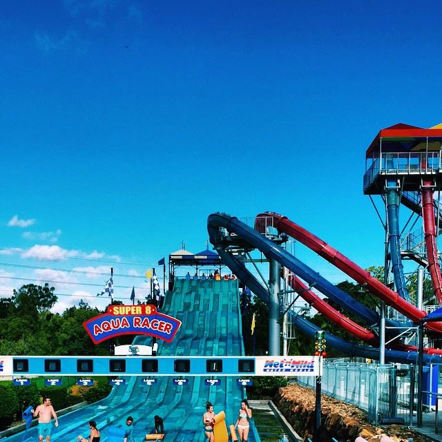 Have Extreme Fun at the Wet'n'Wild Water World